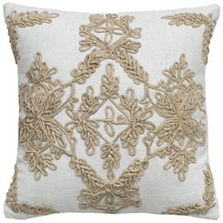 Medallion Jute Pillow