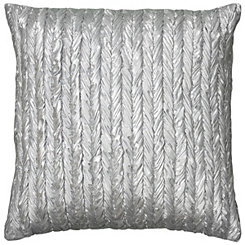 Metallic Braided Stripe Pillow