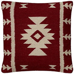 Red Blanket Pillow
