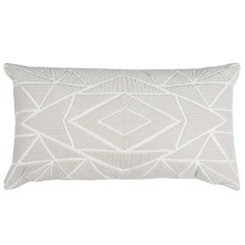Stone Geometric Accent Pillow