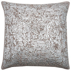 Metallic Square Pillow