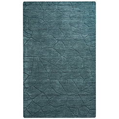 Blue Granite Area Rug, 5x8