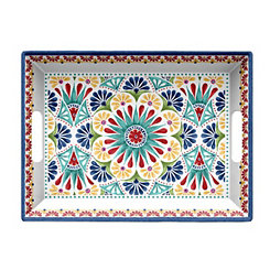 Rio Medallion Melamine Serving Tray