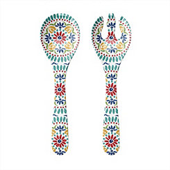 Rio Medallion Melamine Servers