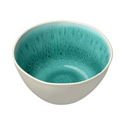 Turquoise Radiant Glaze Bowls, Set of 6