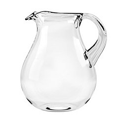 Clear Cordova Medallion Melamine Pitcher