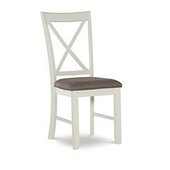 Leila Gray Dining Chairs, Set of 2