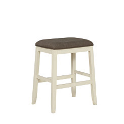 Leila Gray Saddle Bar Stool