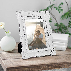 White Vintage Ornate Picture Frame, 5x7