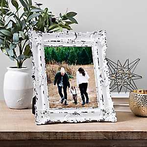 White Vintage Ornate Picture Frame, 8x10