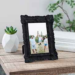 Black Vintage Ornate Picture Frame, 4x6