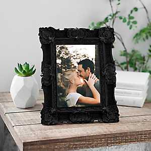 Black Vintage Ornate Picture Frame, 5x7