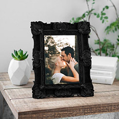 Black Vintage Ornate Picture Frame, 5x7