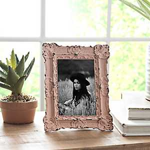 Blush Vintage Ornate Picture Frame, 4x6