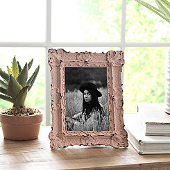 Blush Vintage Ornate Picture Frame, 4x6