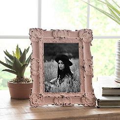 Blush Vintage Ornate Picture Frame, 5x7