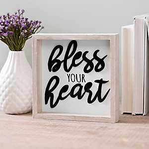 Bless Your Heart Word Block
