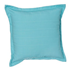 Solid Capri Flange Outdoor Pillow
