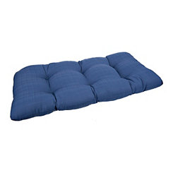 Navy Setee Cushion