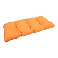 Sunset Orange Settee Cushion