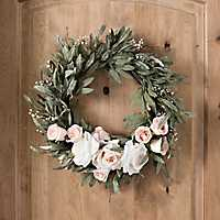 Eucalyptus Rose Wreath