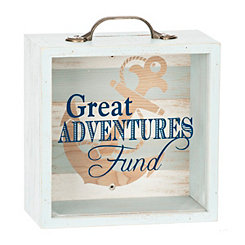 Wooden Great Adventures Money Bank