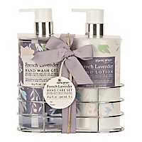 French Lavender Hand Wash & Lotion Caddy