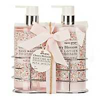 Cherry Blossom Hand Wash & Lotion Caddy
