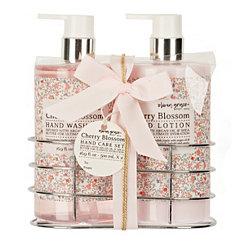 Cherry Blossom Hand Wash & Lotion Caddy