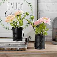 Ranunculus Bucket Arrangements