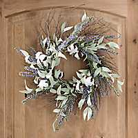 Lavender Cotton Wreath