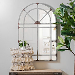 Galvanized Arch Wall Mirror