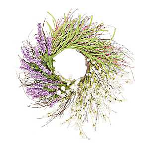 Lavender Spring Mix Wreath