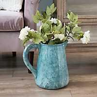 Blue Glaze Pitcher Vase