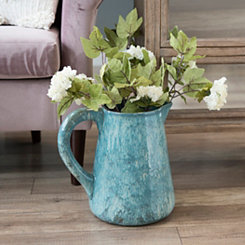 Blue Glaze Pitcher Vase