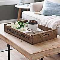 Farmer's Market Crate