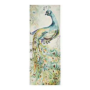 Bohemian Peacock I Canvas Art Print