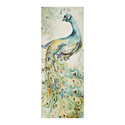 Bohemian Peacock I Canvas Art Print