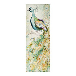 Bohemian Peacock II Canvas Art Print