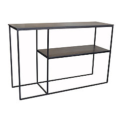 Brennan Slate and Metal Console Table