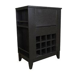Black Brennan Wine Cabinet