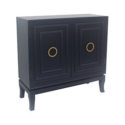 Navy Diane 2 Door Cabinet