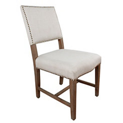 Gray Macy Upholstered Dining Chair