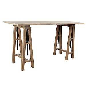 Gray Macy Adjustable Writing Desk
