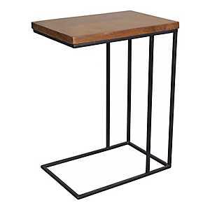 Brock Wood and Metal C-Table