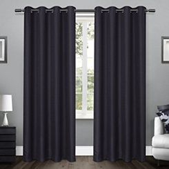 Blue Lila Curtain Panel Set, 84 in.