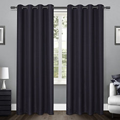 Blue Lila Curtain Panel Set, 96 in.
