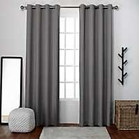 Gray Lila Curtain Panel Set, 108 in.