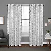 White Modo Curtain Panel Set, 84 in.