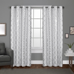 White Modo Curtain Panel Set, 96 in.